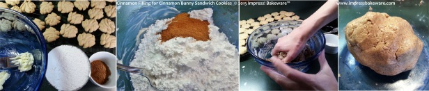 Cinnamon Filling for Cinnamon Bunny Sandwich Cookies  -© 2015 Impress! Bakeware™