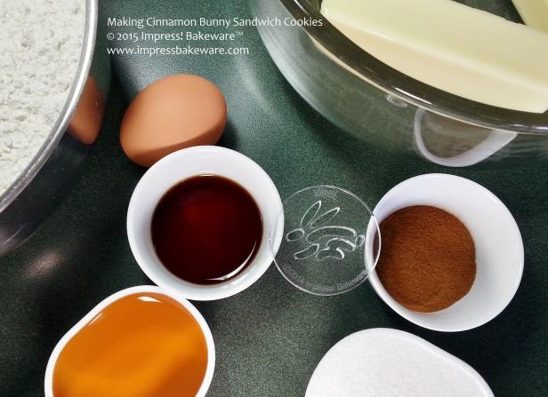 Making Cinnamon Bunny Sandwich Cookies © 2015 Impress! Bakeware™