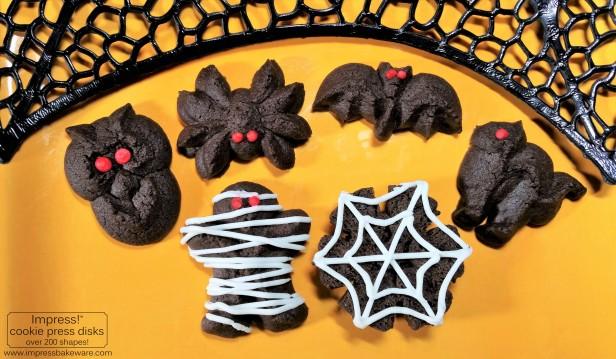 chocolate-halloween-cookie-press-spritz-cookies-2016-impress-bakeware-llc-p2-copy