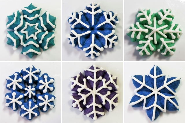 colorful-iced-snowflakes-spritz-cookies-2016-impress-bakeware-llc-cl-cookie-press