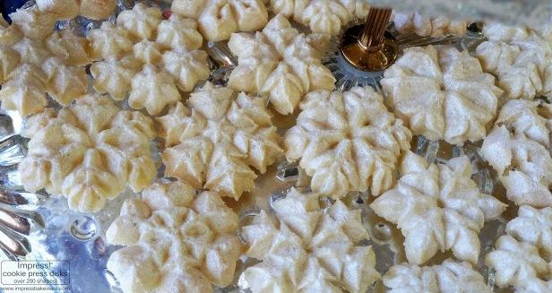 Sparkling Snowflake Almond Spritz Cookies © 2016 Impress! Bakeware, LLC h.jpg