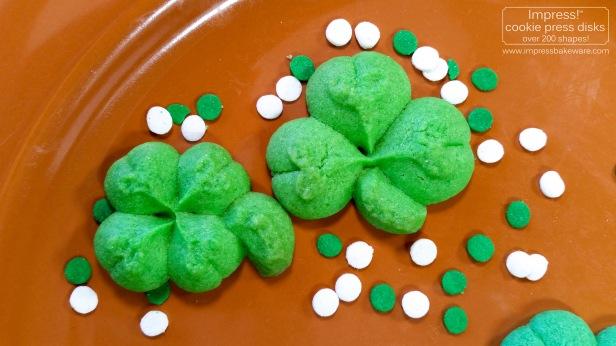 shamrock-four-leaf-clover-cookies-2017-impress-bakeware-llc-spritz-cookie-press-e