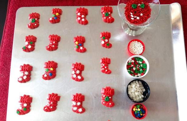 i Peppermint Candy Cane & Stocking Sandwich Cookies Stuffed Crushed Peppermint cookie press spritz © 2017 Impress! Bakeware, LLC.jpg
