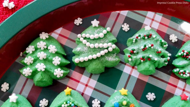 nwk Spritz Cookie Christmas Trees cookie press spritz © 2017 Impress! Bakeware, LLC.jpg