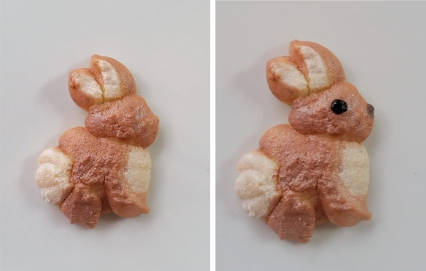 Bunny Woodland Christmas Spritz Cookies © 2019 Impress! Bakeware, LLC