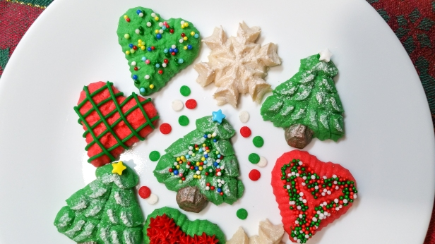 Christmas Is Love Spritz Cookies © 2019 Impress! Bakeware, LLC c
