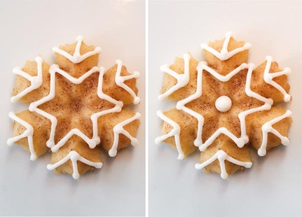 Snickerdoodle Spritz Snowflakes © 2019 Impress! Bakeware, LLC l