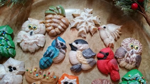 Woodland Christmas Spritz Cookies © 2019 Impress! Bakeware, LLC b