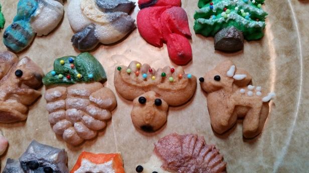 Woodland Christmas Spritz Cookies © 2019 Impress! Bakeware, LLC d