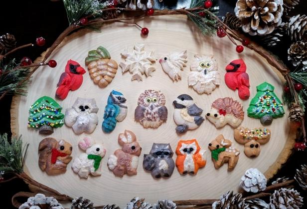 Woodland Christmas Spritz Cookies © 2019 Impress! Bakeware, LLC g