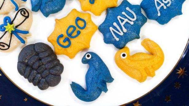 Graduation Spritz Cookies c © Impress! Bakeware, LLC