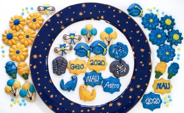 Graduation Spritz Cookies © Impress! Bakeware, LLC