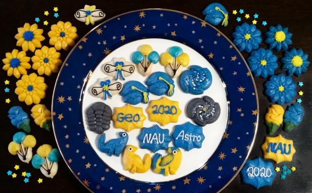 Graduation Spritz Cookies f © Impress! Bakeware, LLC