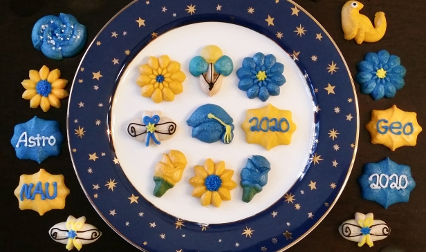 Graduation Spritz Cookies h © Impress! Bakeware, LLC